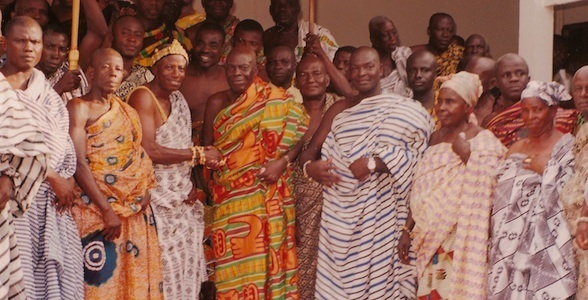 The Mo and Nkoranza tribes are peacefully reunited.