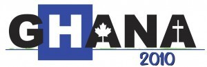 Ghana Health Team 2010 logo