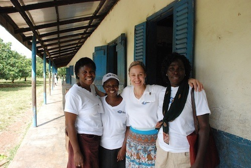 Dr. Wilson and Ghanaian Team Volunteers