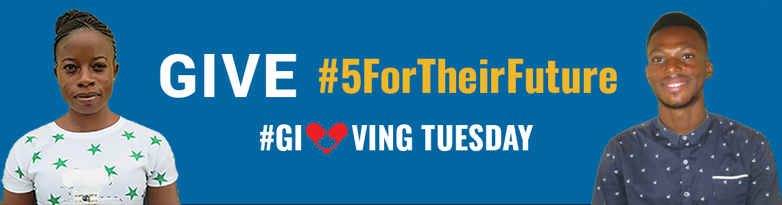 Give #5ForTheirFuture